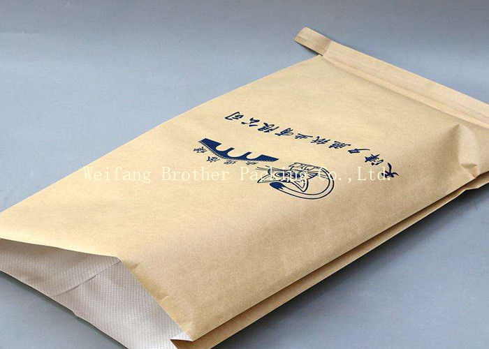 Paper-Plastic Compound PP Woven Bag for Chemical, Cement, Mineral